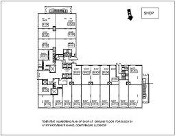 dlf my pad lucknow official floor plans of my shop spaces