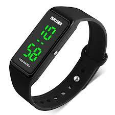 bracelet digital watches images Led unisex watch fashion simple sport waterproof jpg