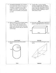 by answer volume and surface area of prisms and cylinders