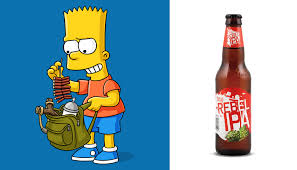 cartoon beer can ultimate 6er the simpsons