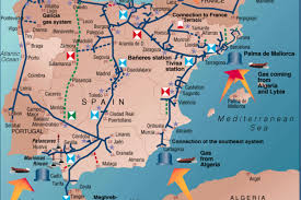 Iberia Route Map by Spanish Midcat Pipeline To Replace 10 Of Russian Gas Imports