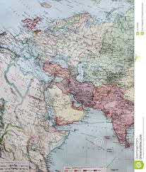 Western Europe Map by Old 1945 Map Of Western Europe Including North Africa Stock