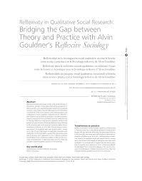 transfert de si e social sci reflexivity in qualitative social research bridging the gap between