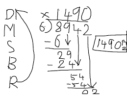 showme long division scaffolding