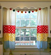 Bright Colorful Kitchen Curtains Inspiration Colorful Kitchen Curtains S Valances Bright Inspiration For Your