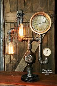 industrial desk lamp steam gauge 955