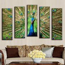 Peacock Decorations For Home Online Get Cheap Peacock Art Oil Aliexpress Com Alibaba Group