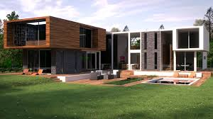 modern family house cgarchitect professional 3d architectural visualization user