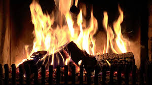 real time burning fireplace with soft crackling fire sounds hd