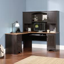 Computer Desk With Hutch Amazon Com Sauder Office Furniture Harbor View L Desk With Hutch