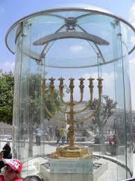 jerusalem menorah the golden menorah quarter of jerusalem picture of