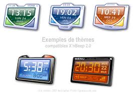 horloge bureau windows 7 x nbeep réveil digital pour windows xp widget gadget