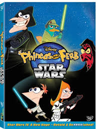 phineas and ferb star wars dvd phineas and ferb wiki fandom