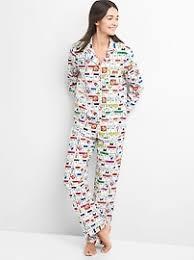 s pajamas sleepwear loungewear gap