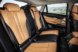 Pure Black Tone The New Bmw X6 Bicolour Leather Nappa With Extended Contents