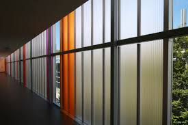 cellular polycarbonate panel for curtain walls cellular