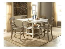 riverside dining room counter height dining table 27351 carol