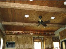 Fake Ceiling Beams by Wood Ceiling Ideas With Panels Browse Design Photos