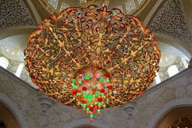 Largest Chandelier One Of The Largest Chandelier In The World Picture Of Sheikh