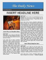 newspaper template for docs 100 images docs newspaper template