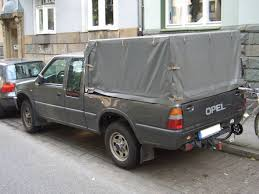volkswagen mini truck opel campo tds 4x4 sportscab 1992 2001 backleft 2008 07 27 u jpg