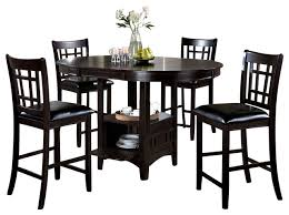 5 Piece Pub Table Set Pub Table With Storage Sosfund
