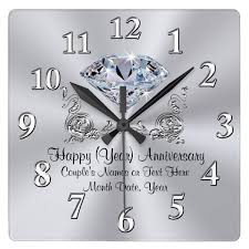 personalized anniversary clocks http ift tt 2rx6hxr shop https goo gl svbx0g diamond