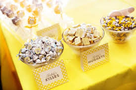 yellow and gray baby shower decorations kara s party ideas owl themed yellow and gray baby shower via