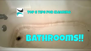 Best Cleaner For Bathtub Soap Scum Bathroom Cleaning Hacks Soap Scum Toilet Rust And More