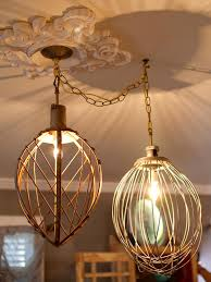 Wicker Light Fixture by Brighten Up With These Diy Home Lighting Ideas Hgtv U0027s Decorating