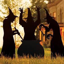Martha Stewart Halloween Bats by Martha Stewart Living Three Witches Silhouette Halloween