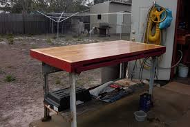 outdoor work bench treenovation