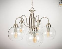 edison bulb chandelier chandelier light fixture brushed