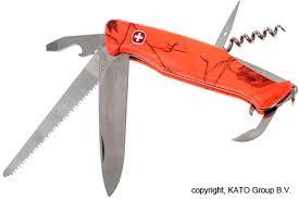 wenger kitchen knives wenger ap blaze 55 orange swiss army knife knivesandtools co uk