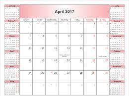 april 2017 blank calendar template calendar and images