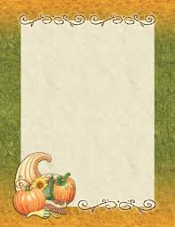 fall paper fall stationery for special events