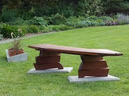 outdoor benches handmade for the garden amp patio nico yektai wood