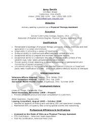 Beauty Therapist Resume Template Physical Therapist Resume Template Free Resume Example And