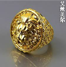 men big rings images High quality fashion 24k gold filled exaggerated big rings hiphop jpg