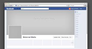 facebook templates for business facebook profile page template