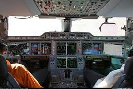 airbus a350 cockpit aviation