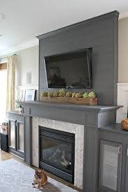 entertainment center over fireplace room design ideas cool at