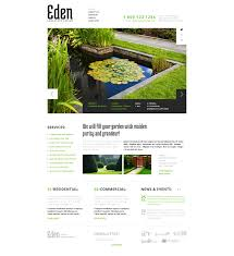 Landscaping Duties On Resume Landscape Design Website Templates