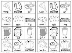 states of matter freebie students will cut out the pictures sort