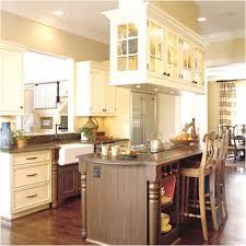 Biscotti Kitchen Cabinets Cream Cabinets With White Trim Roomology