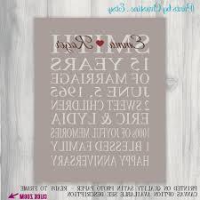 year wedding anniversary 15 year wedding anniversary luxury 15 year anniversary t print