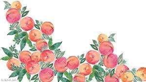 wallpapers for desktops free free watercolor peach wallpapers inkstruck studio