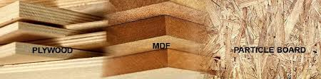 is mdf better than solid wood plywood vs mdf vs particle board difference and comparison
