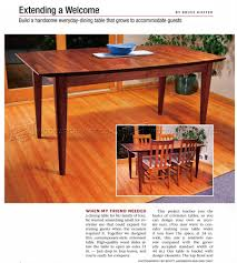 extension dining table plans u2022 woodarchivist