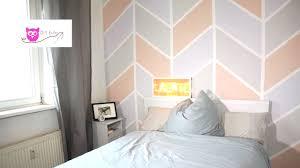 wandgestaltung mit farbe muster kinderzimmer wandbemalung muster gemütlich auf moderne deko ideen